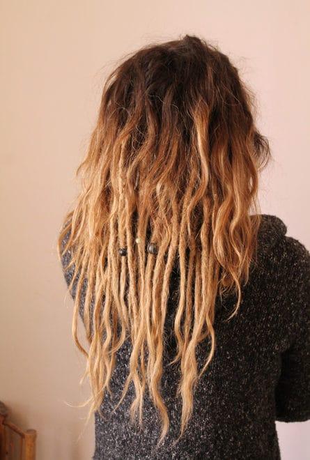 Rajouts dreads naturelles