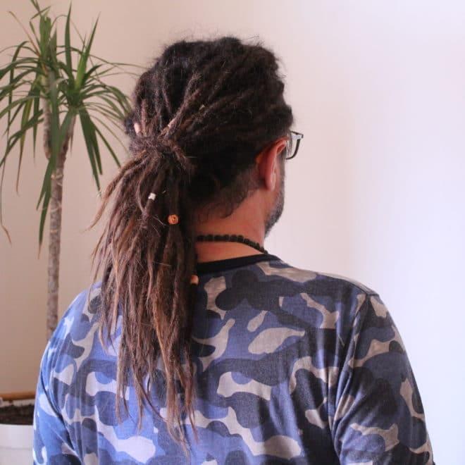 Entretien dreads avec extensions - Stéphane