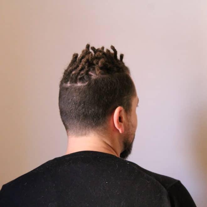 Création de dreads naturelles