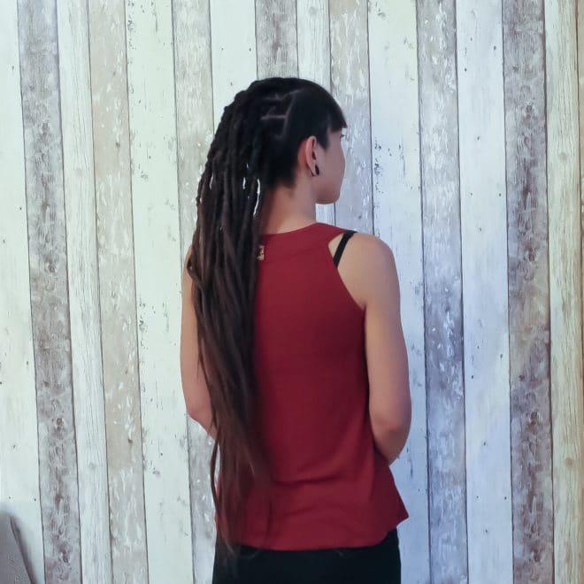 Création dreads en extensions naturelles
