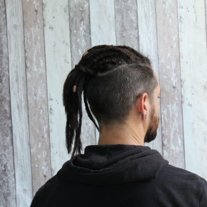 Pose des dreads avec extensions naturelles - Jérôme