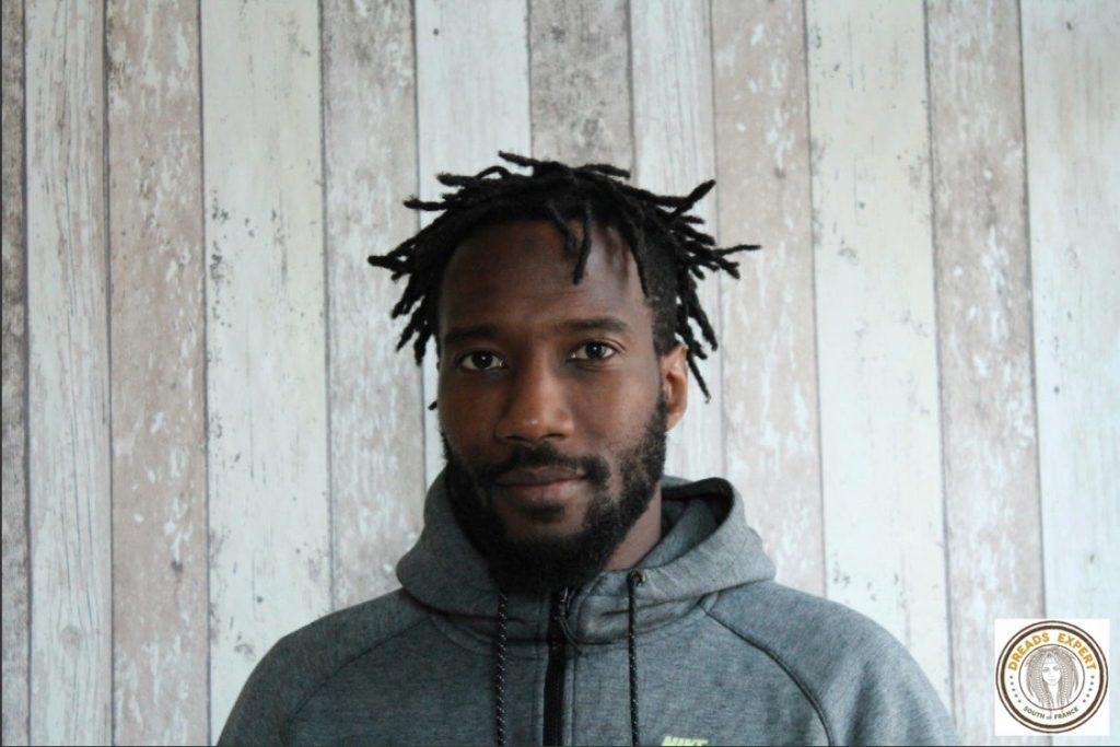 Dreadlocks pour homme cheveux afro