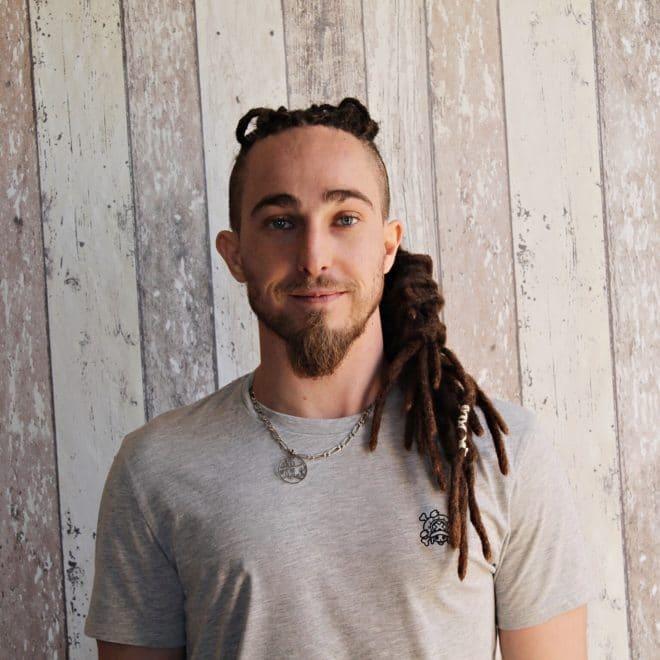 Dreadlocks pour homme cheveux longs