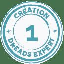 Création de dreads locks naturelles avec Lisah de Dreads Expert