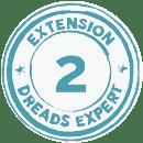 Extensions de dreads locks naturelles avec Lisah de Dreads Expert